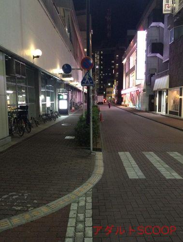蒲田_夜の道