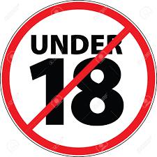18才未満登録禁止